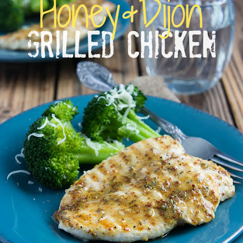 Honey Dijon Grilled Chicken