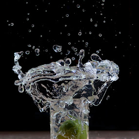 Lemon Splash by Souvik Goswami - Artistic Objects Other Objects