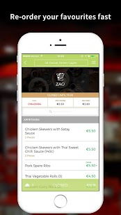 Zao Delivery App - screenshot
