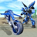 Flying Bike Transformer Robot for PC (Windows 7,8,10 & MAC)