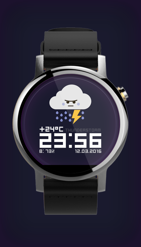 Watch Face: Weather Screenshot 5