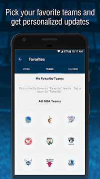 NBA App APK screenshot thumbnail 4