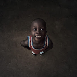 From Nigeria with Love.. by Rami Alsaadi - Babies & Children Child Portraits ( love, landscape, portrait )