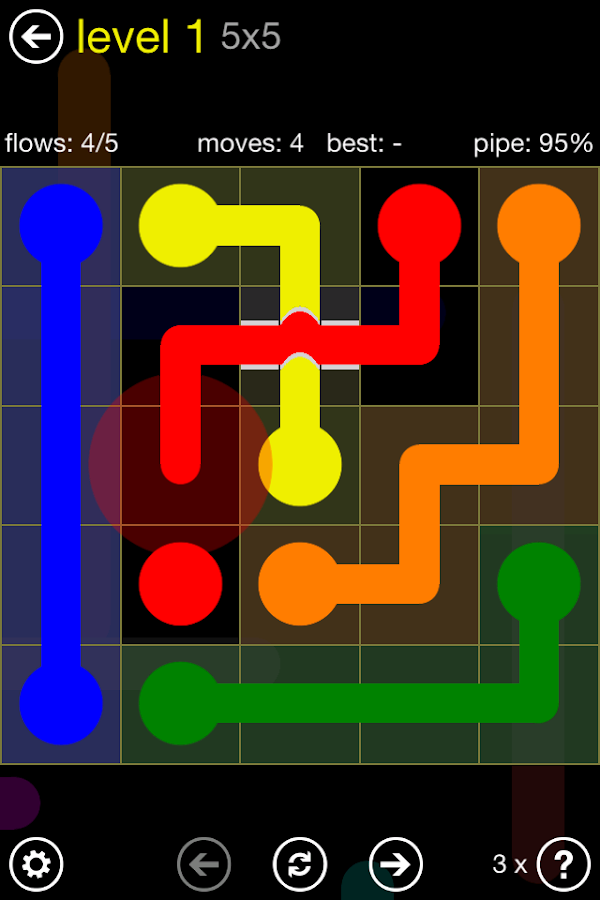 Flow Free: Bridges Screenshot 0