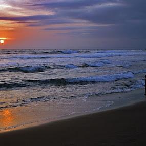 Goodbye my sun ... by Willy Aprillianto - Landscapes Sunsets & Sunrises ( bali, sunset )