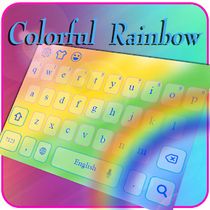 Gorgeous Rainbow Typewriter APK