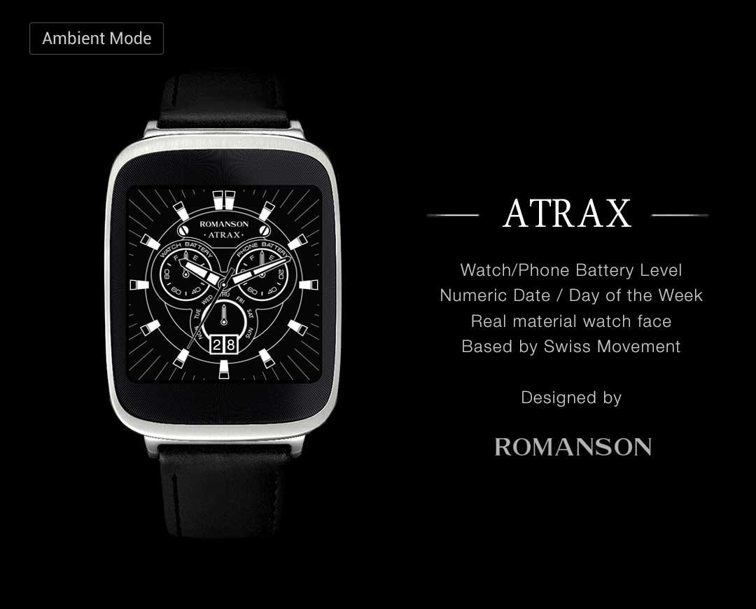 Atrax watchface by Romanson Screenshot 4