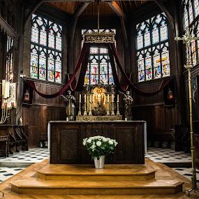 Church by Denis Sinoussi - Buildings & Architecture Public & Historical ( religion, church, architecture, light,  )