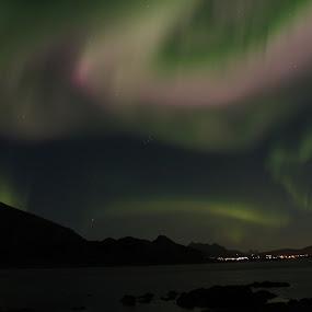 Nordlys Vestvågøy Lofoten by Karl-roger Johnsen - Uncategorized All Uncategorized