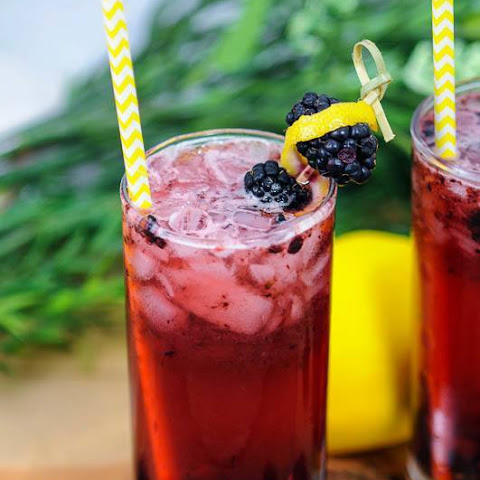 Muddled Blackberry Gin