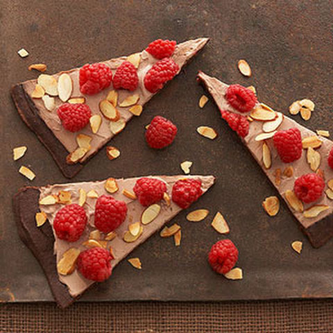 Brownie Raspberry Tart