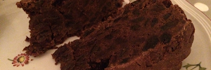 Recipe Chocolate fruitcake
