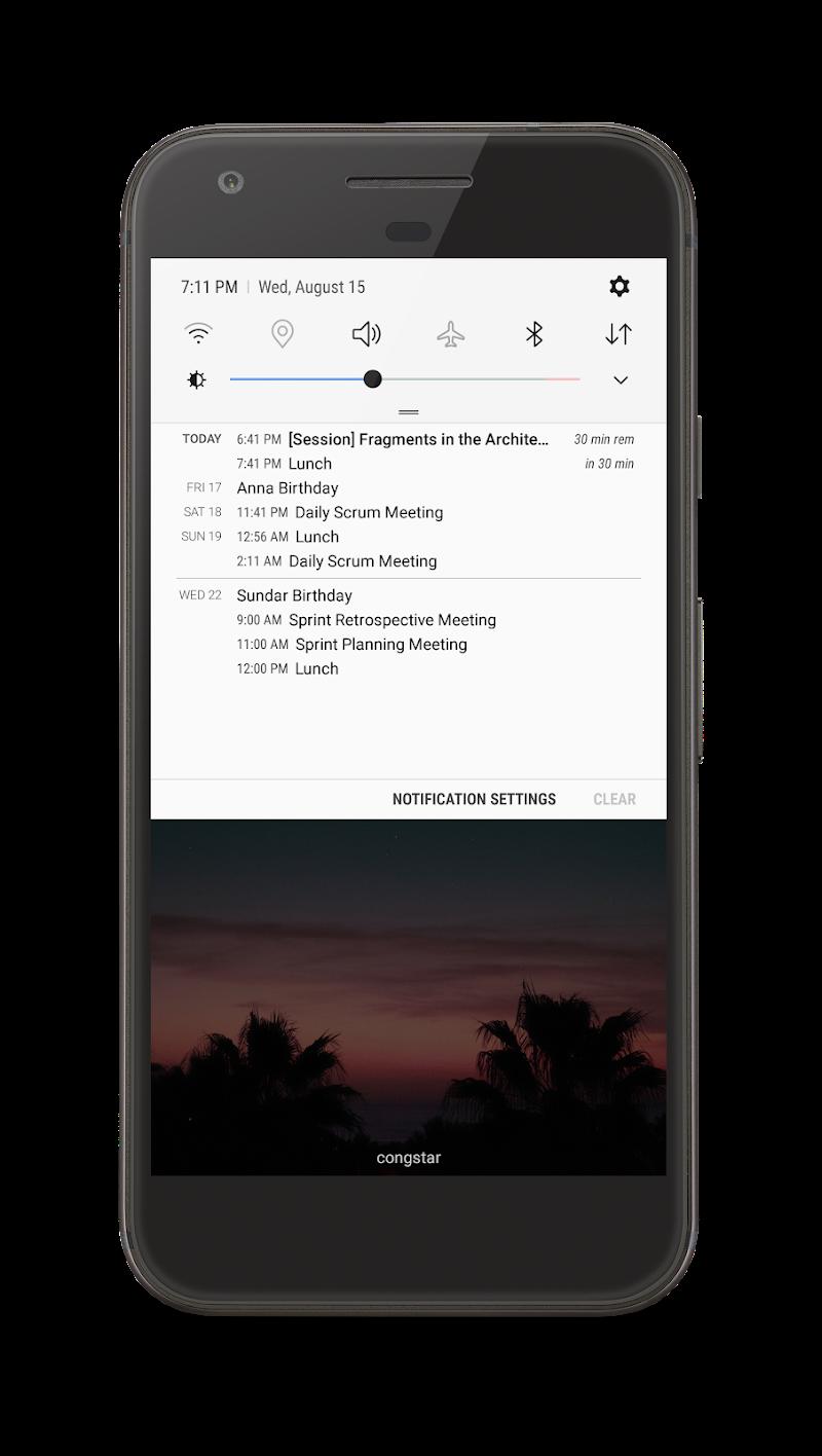 Your Calendar Widget Screenshot 5
