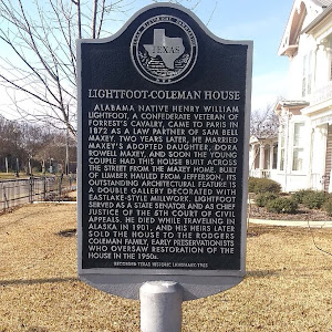 Alabama native Henry William Lightfoot a Confederate veteran of Forrest's Cavalry, came to Paris in 1872 as a law partner of Sam Bell Maxey. Two years later, he married Maxey's adopted daughter, Dora ...