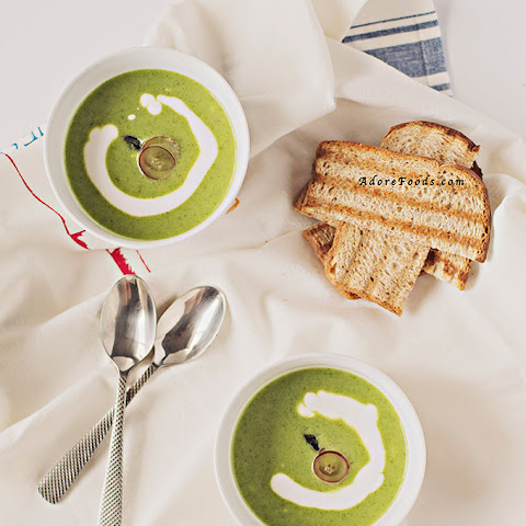 Roasted Creamy Asparagus Soup