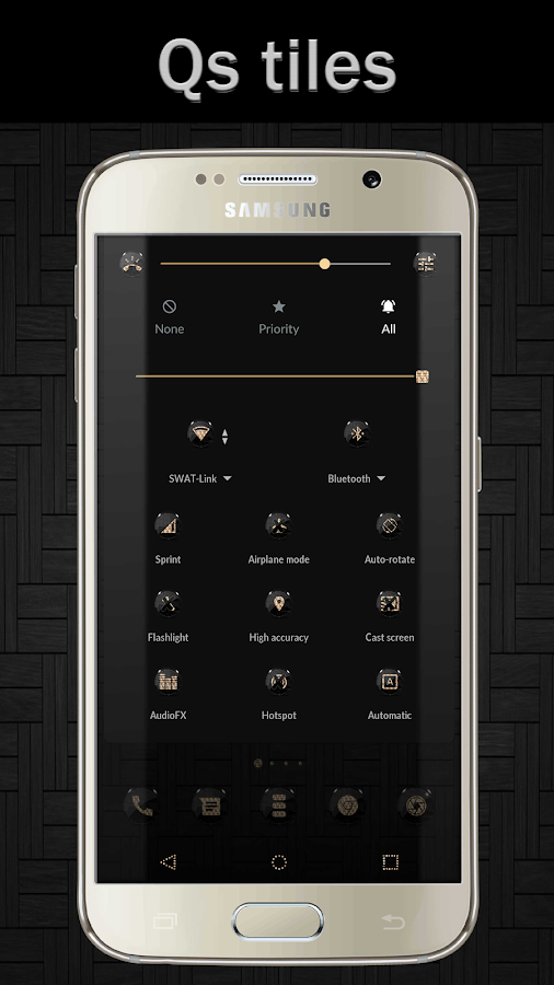 Black Gold CM12 CM13 Screenshot 4