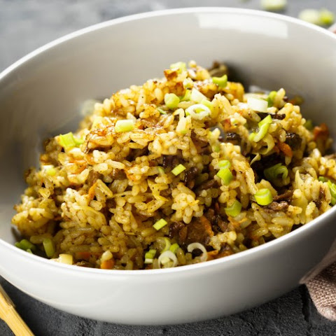Ground Beef Fried Rice