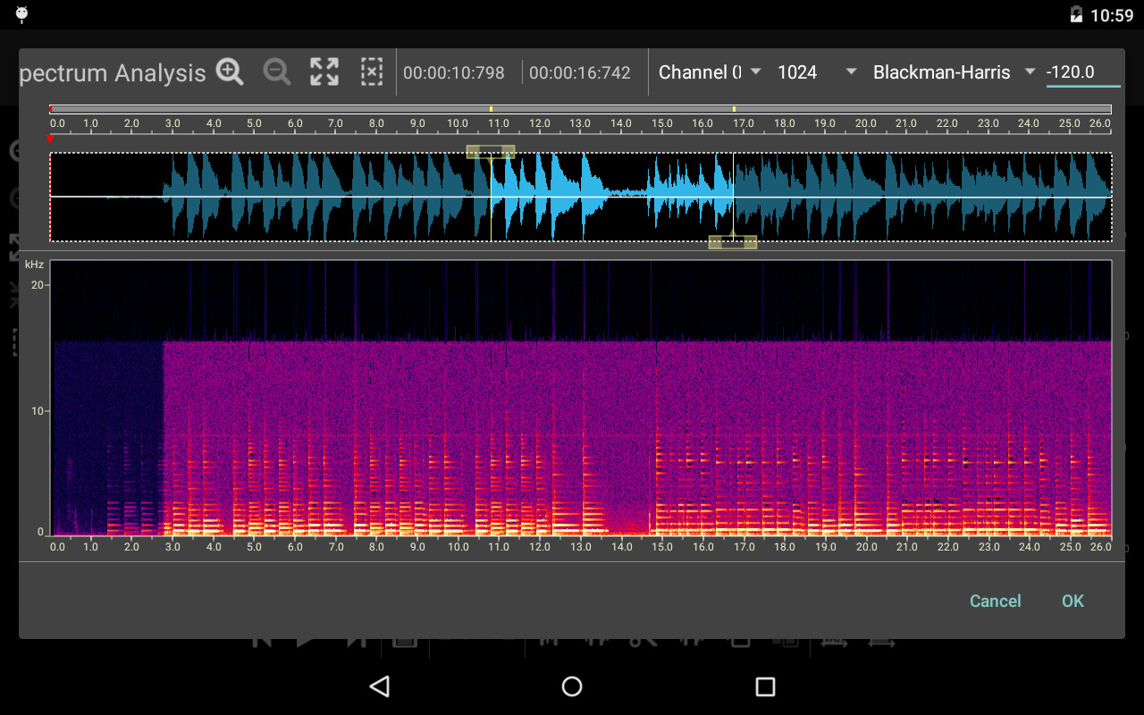 Doninn Audio Editor Screenshot 17