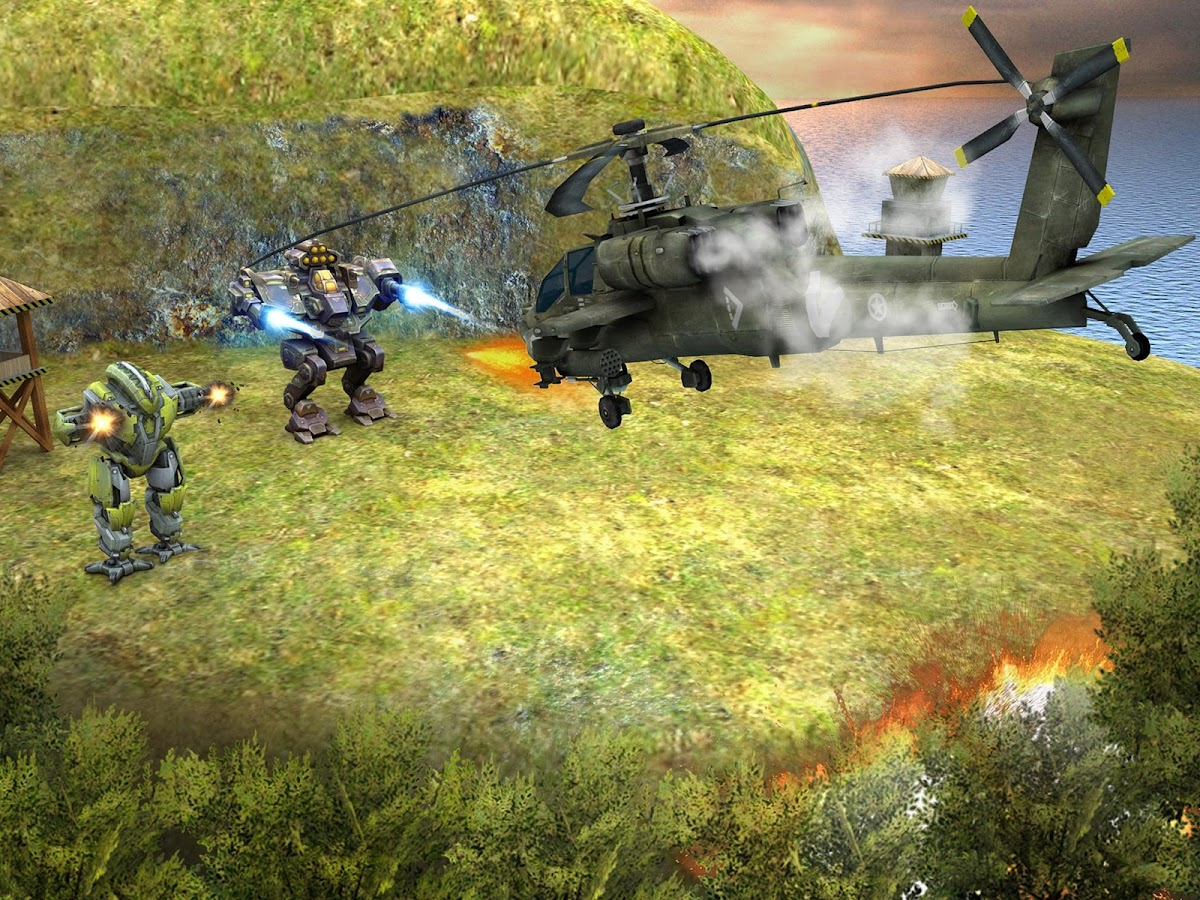 Copter vs Aliens Screenshot 7
