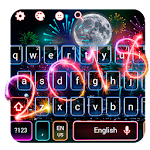 Happy New Year 2018 Keyboard Theme Icon