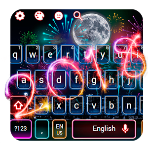 Happy New Year 2018 Keyboard Theme For PC