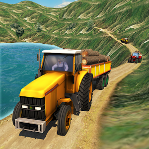 Cargo Tractor Simulator: Hill Climb Transport