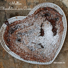 Molten Chocolate Lava Cake {Recipe} | $300+ Mother's Day #Giveaway with Wilton Armetale
