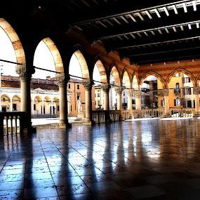 Udine ~ Loggia della Lionella by Pieter Arnolli - City,  Street & Park  Historic Districts ( europe, udine, piazza, travel, italy, historic, city )