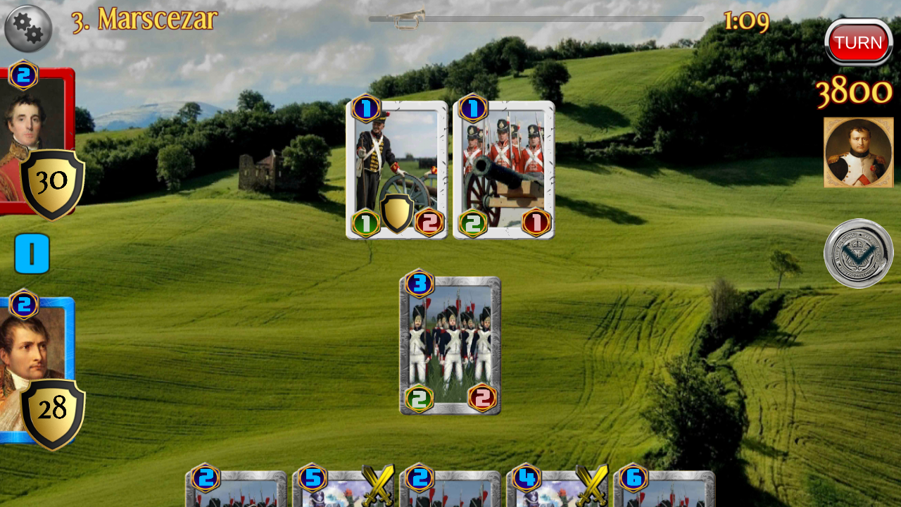 Napoleon War Cards Screenshot 10