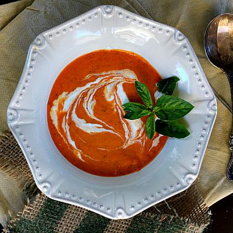 Tomato Soup with Cognac and Orange