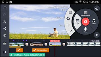 Screenshot of KineMaster – Pro Video Editor