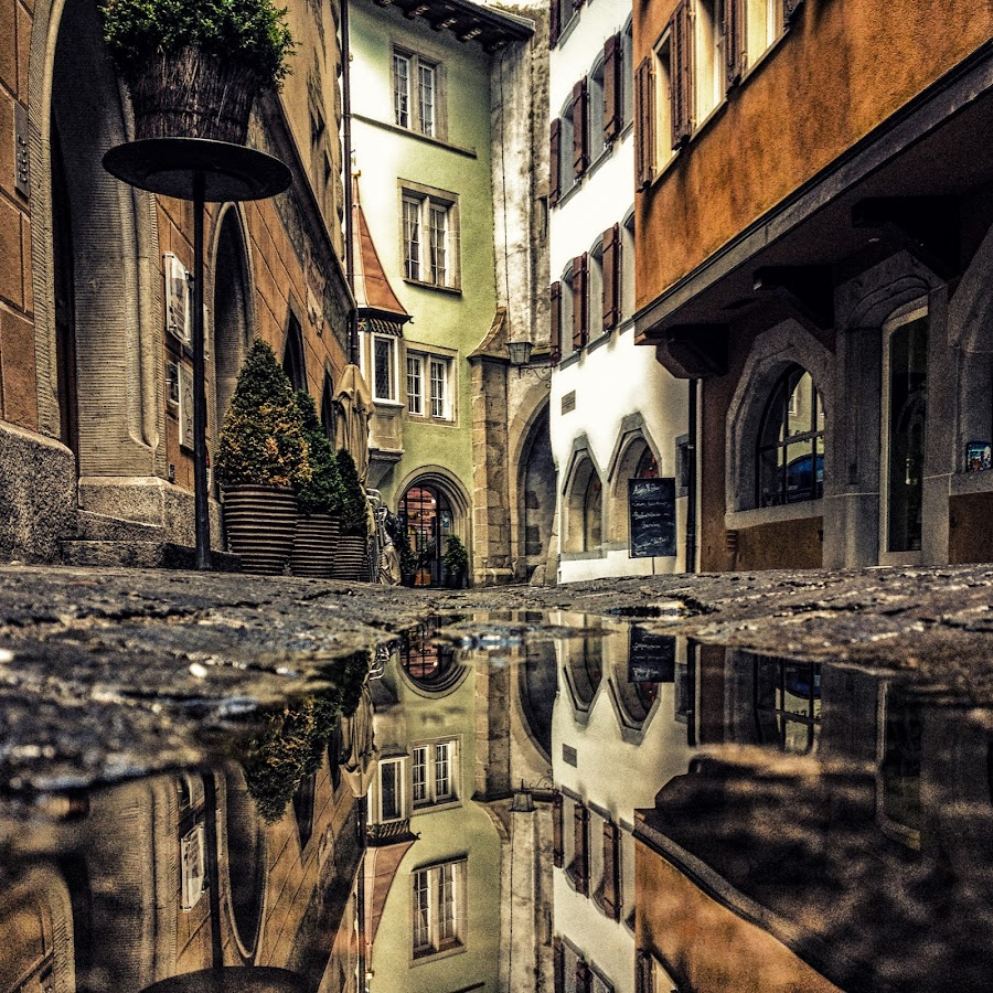 Medieval Times by Ingo Meckmann - Instagram & Mobile iPhone ( reflection, switzerland, zug, iphone )