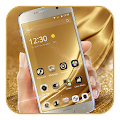 Gold Silk Luxury deluxe Theme APK for Bluestacks