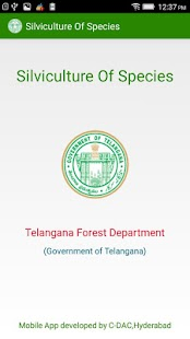 Silviculture of Species – TS - screenshot