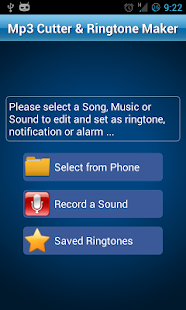 MP3 Cutter and Ringtone Maker♫ for pc