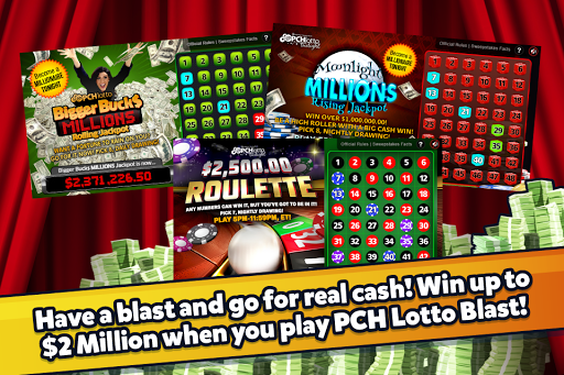 PCH Lotto Blast Screenshot