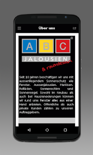 ABC-Jalousien - screenshot
