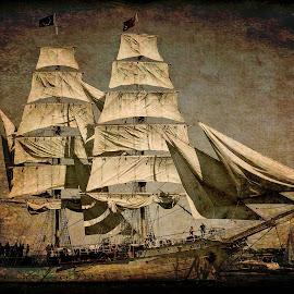 Sailing away by Al Duke - Digital Art Things
