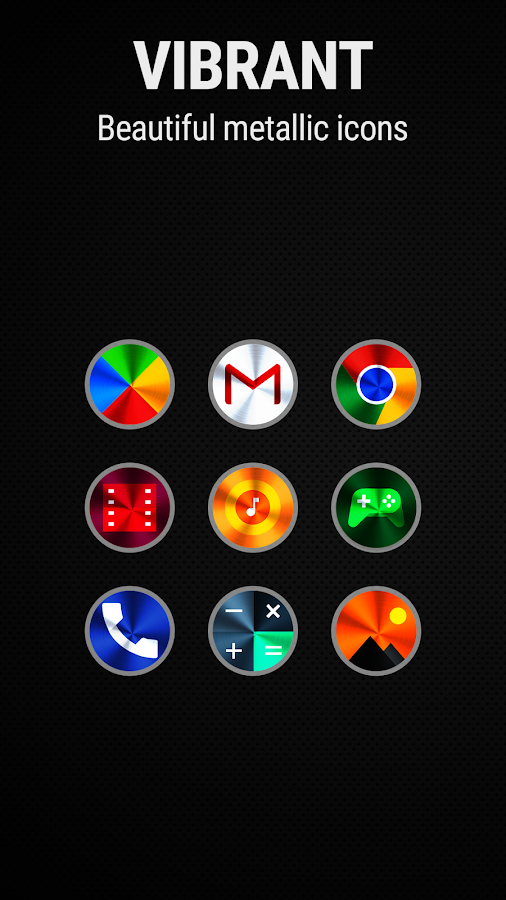 Vivid 2 Icon Pack Screenshot