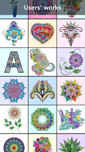 Game Mandala Coloring Book apk for kindle fire