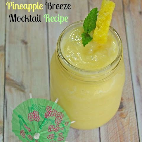 Pineapple Breeze Mocktail