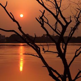 Sunset by Jhilam Deb - Landscapes Sunsets & Sunrises (  )