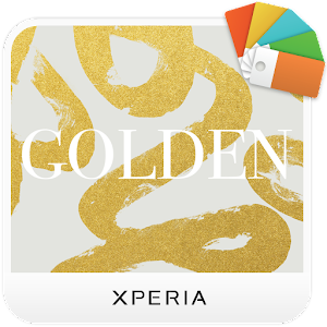 Download XPERIA™ Golden Theme For PC Windows and Mac