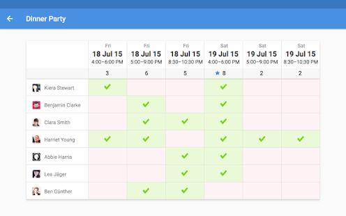 schedule maker app