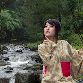 yukata girl's by Lucky  Ariya wijaya - People Fashion