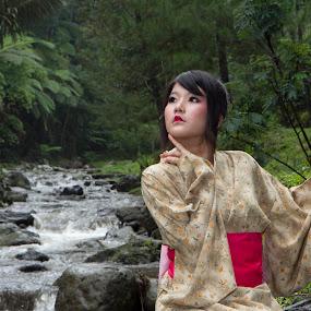 yukata girl's by Lucky  Ariya wijaya - People Fashion