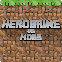 Herobrine vs Mob Craft Free PE For PC (Windows And Mac)