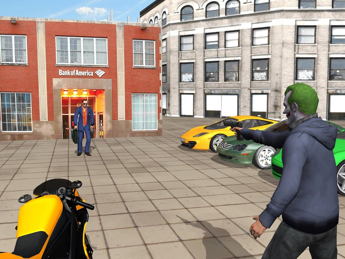 Grand City Crime Gangster game Screenshot 4