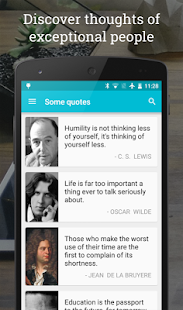 Quotesbook - A daily phrase - screenshot