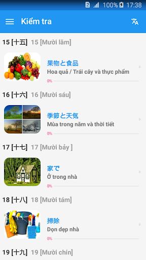 Học tiếng Nhật giao tiếp cho người Việt - Awabe screenshot 6